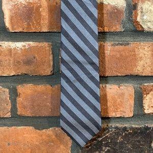 An Original Penguin Striped 100% Silk Tie